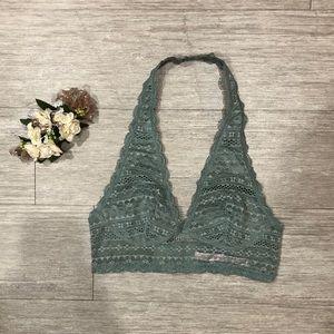 3/$23 Victoria's Secret Lace Halter Bralette